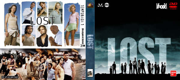Lost : dvd covers